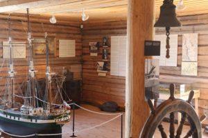 Loviisan Merenkulkumuseon huone