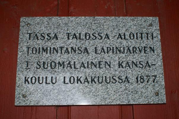 Porlammin koulumuseo