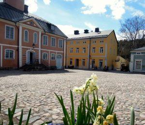 Runebergin museo sijaitsee Porvoossa.