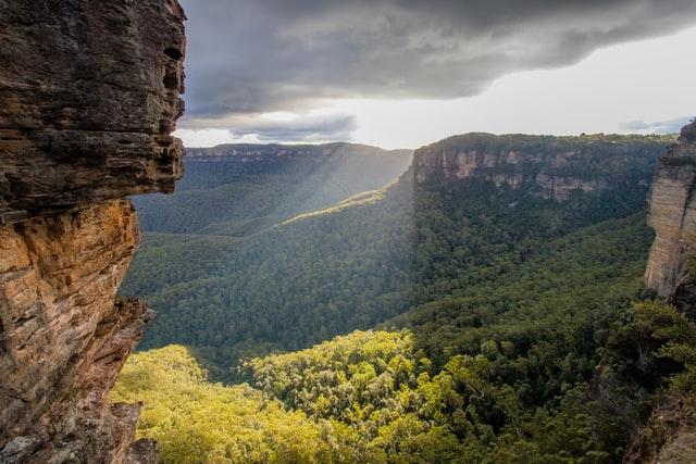 New South Walesin maisema.
